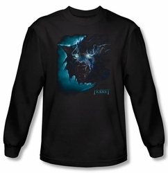 The Hobbit Shirt Movie Unexpected Journey Warg Black Long Sleeve Tee