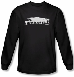 The Hobbit Shirt Movie Unexpected Journey Company Black Long Sleeve