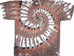Tie Dye T-shirt - Sundog Indian Gold Adult Tee