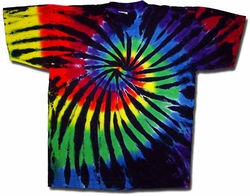 Tie Dye T-shirt - Glass Swirl Adult Tee