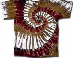 Tie Dye T-shirt - Grand Canyon Red Swirl Tee