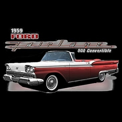 Ford Fairlane Shirts 1959 Ford 500 T-shirts