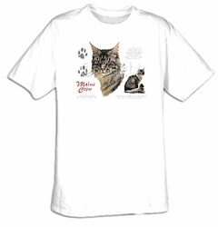Maine Coon T-shirt - Cat Pet Adult Tee