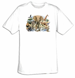 Animal T-shirt - African Oasis Wild Animals Africa Tee