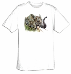Elephant T-shirt - African Elephant Animal Wildlife Adult Tee