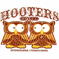Funny Owl T-shirt - Hooters Hotel, Intercourse PA