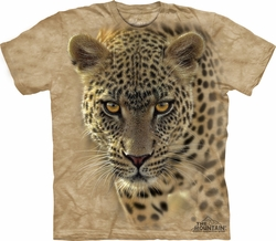 Cheetah Shirt Tie Dye On The Prowl T-shirt Adult Tee