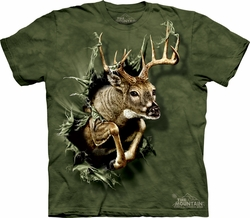 Deer Shirt Tie Dye Buck Breakthrough T-shirt Adult Tee