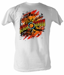 Flash Gordon T-Shirt - Flashtastic Adult White Tee Shirt