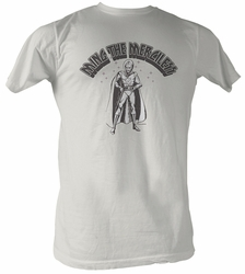 Flash Gordon T-Shirt - Ming The Merciless Adult Dirty White Tee Shirt