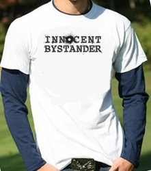 Innocent Bystander SHIRT-IN-SHIRT Long Sleeve Funny T-shirt Tee Shirt