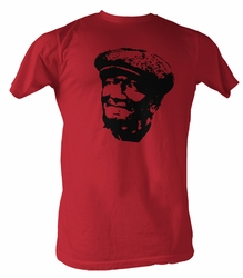 Sanford & Son T-shirt Redd Foxx Fred Revolution Red Adult Tee Shirt