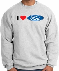 I Love Ford Sweatshirts