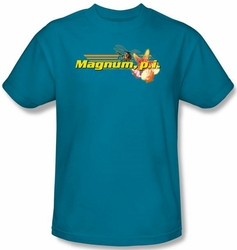Magnum PI Kids T-shirt Hawaiian Life Youth Turquoise Tee Shirt