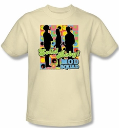 Mod Squad Kids Shirt Mod Squad Pattern Youth Sand T-Shirt