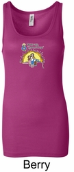 Against Drugs Ladies Tanktop - Hugs Not Drugs Longer Length Tank Top