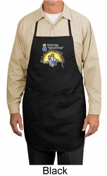 Agianst Drugs Apron - Hugs Not Drugs Apron with 3 Pockets