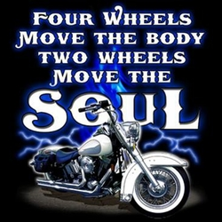 Biker T-shirt - Move the Soul Adult Tee