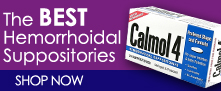 The Best Hemorrhoidal Suppositories Calmol 4
