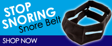 Stop Snoring with Snore Belt