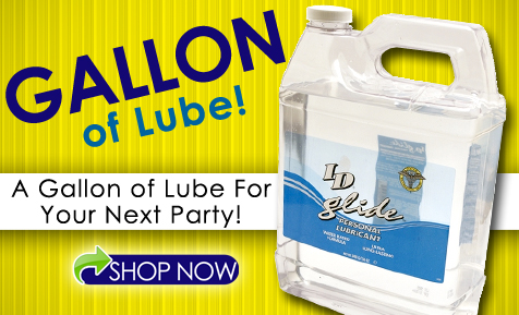 A Giant Gallon Bottle of Personal Lubricant