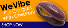The We Vibe is Great For Couples Who Have Children