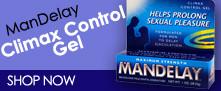 Man Delay for premature ejaculation