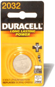 Duracell 2032 Coin Cell Battery Image