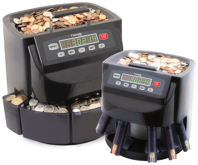 Image of Cassida C200 Coin Counter, Sorter, and Wrapper
