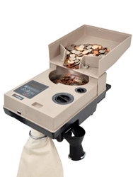 Image of Cassida C500 Heavy Duty Coin Counter and Off-Sorter