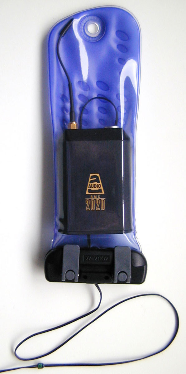 Image of Aquapac Waterproof Radio Microphone Case - Perfect for MP3 Players!