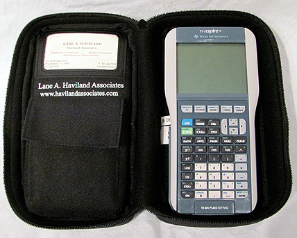 Image of Zippered Soft Case for TI-Nspire, TI-84+, and Other Graphing Calculators