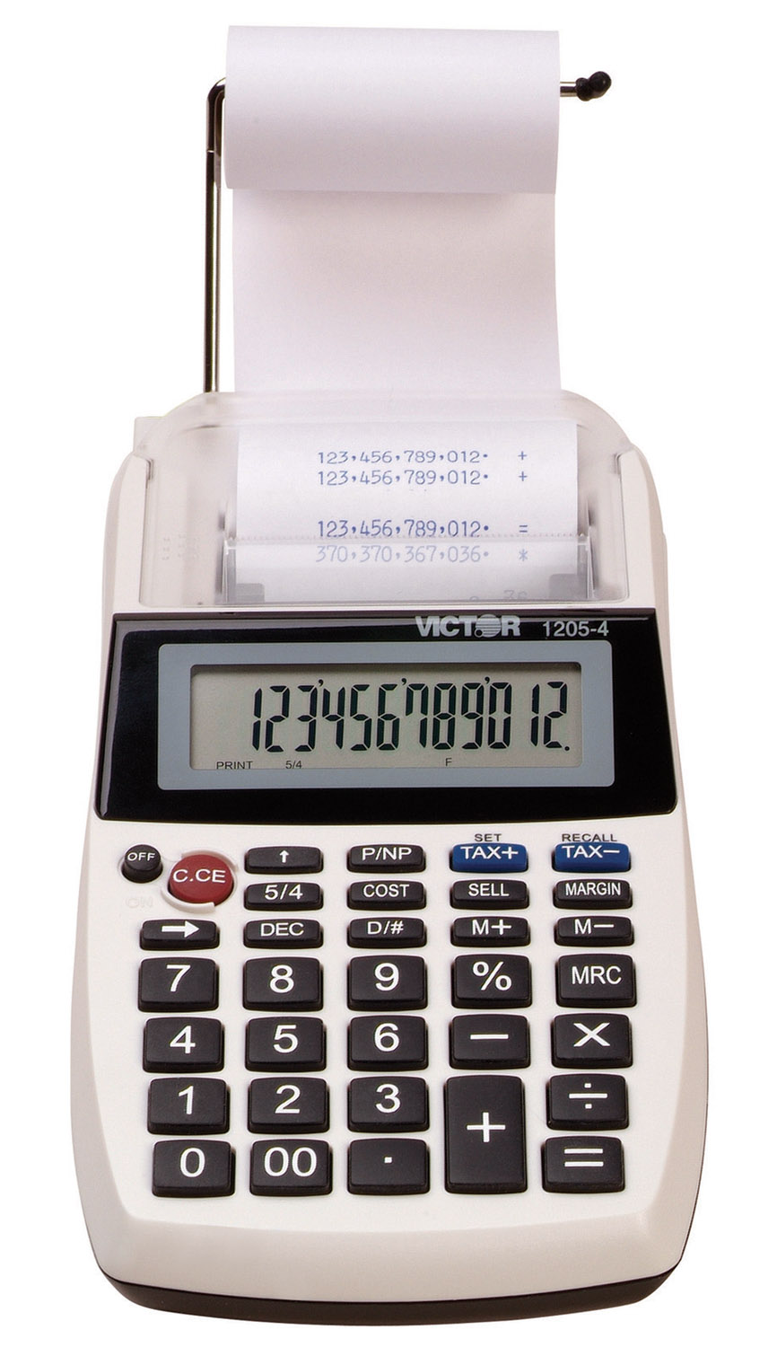 Image of Victor 1205-4 12-Digit Hand Held Printing Calculator