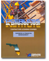 Image of Business & Financial Management for the Florida Contractor Exam
