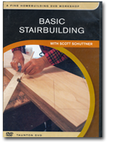 Image of Basic Stairbuilding - DVD
