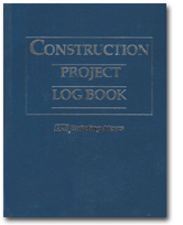 Image of Construction Project Log Book