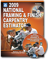 Image of 2009 National Framing & Finish Carpentry Estimator