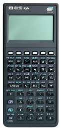 Image of Hewlett Packard HP-48G Plus Used Graphing Calculator
