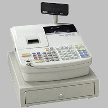 Image of Royal A583-CX Cash Register with 99 Departments and 1000 PLUs