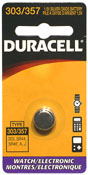 Image of 357 Batteries - HP-30S, HP-17BII, HP-20S, HP-32SII, HP-42, and Other Calculator Products: Duracell 303/357 Button Cell Battery