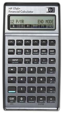 hewlett-packard-hp-17bii-rpn-algebraic-financial-calculator
