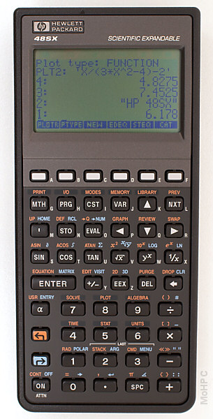 Image of Hewlett Packard HP-48SX Used Graphing Calculator