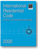 Image of 2000 International Residential Code on CD-ROM