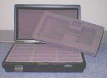 Image of Hard Case for 30 TI-84 Series Graphing Calculators and 1 Viewscreen Set