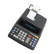 Image of Sharp EL-2196BL Printing Calculator with Clock and Calendar