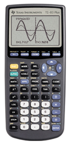 Image of Texas Instruments TI-83 Plus Graphing Calculator