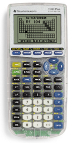 Image of Texas Instruments TI-83 Plus Silver Graphing Calculator Teacher Pack