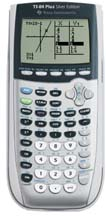 Image of Texas Instruments Used TI-84 Plus Silver Graphing Calculator