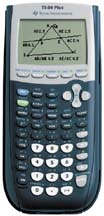 Image of Texas Instruments Used TI-84 Plus Graphing Calculator