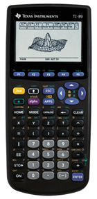 Image of Texas Instruments TI-89 Graphing Calculator (Used)